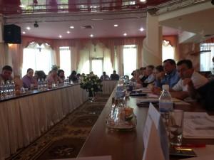 Дмитрий Богданов на конференции по лечебному туризму