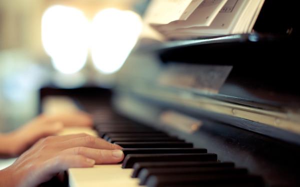 пианино в санатории Знание