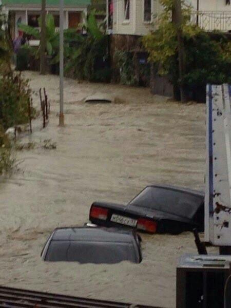 наводнение в Сочи 24.09.13 - в блог Дмитрия Богданова