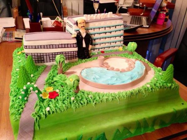 Торт на день рождения Богданова Дмитрия