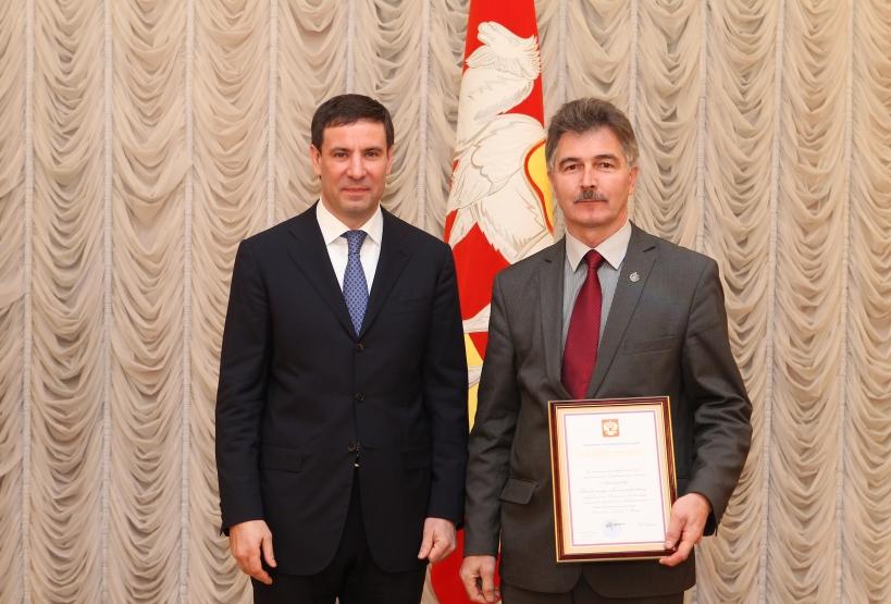 М.Юревич и В.Лушников