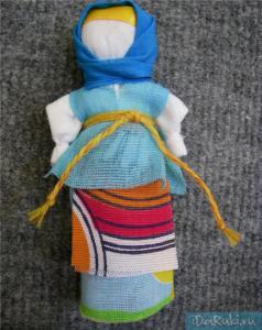 Куколка оберег для вашего дома