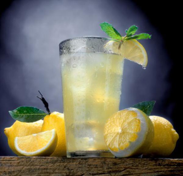 Полезный для здоровья лимонад