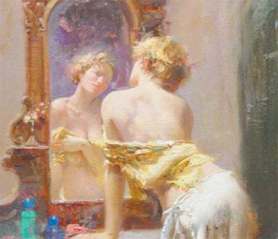 Зеркало и старение