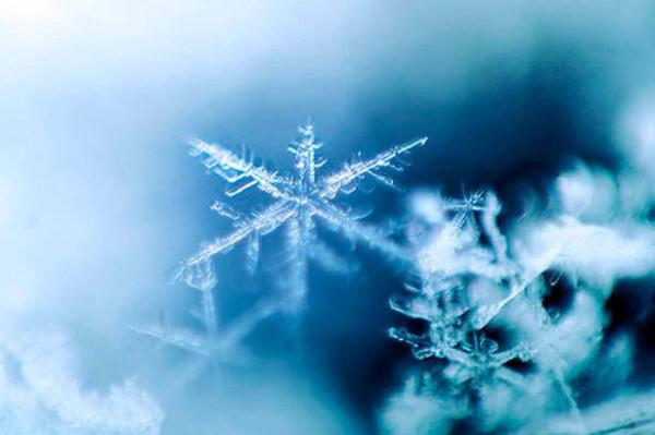 Счастье - это снегопад...
