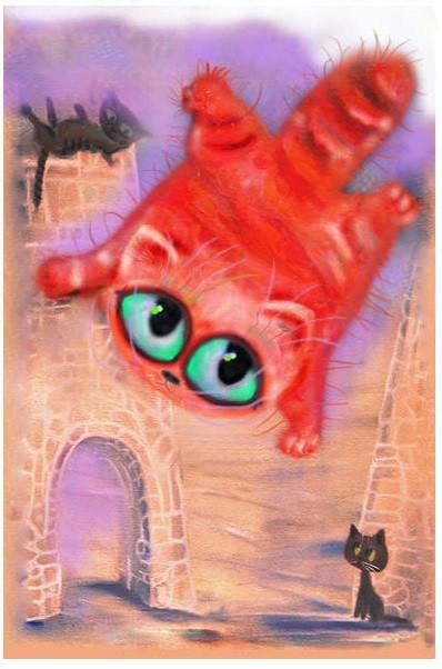 Притча о летающей кошке