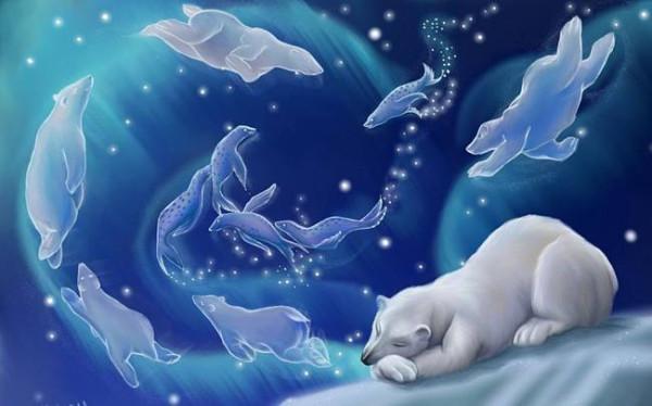 Доброй ночи! Счастливых снов!