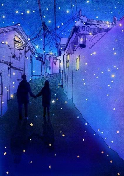 Доброй романтичной ночи!