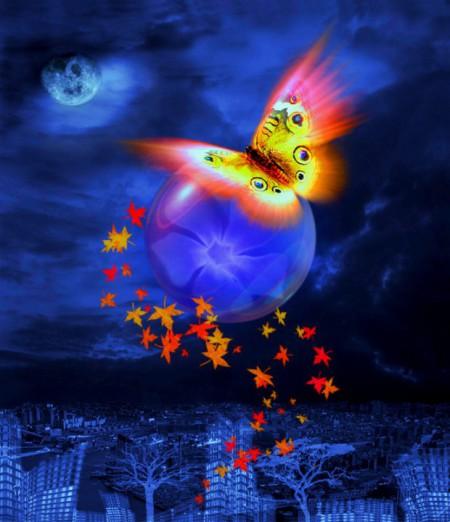 Доброй ночи! Разноцветных снов!
