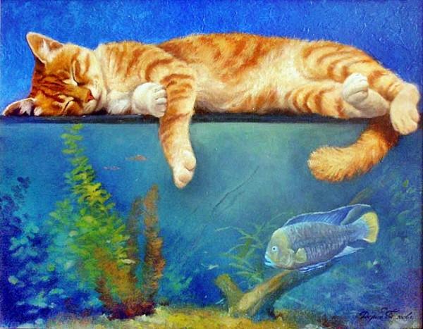 Доброй ночи! Мечтательных снов!