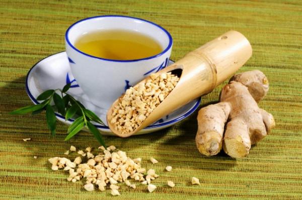Чай с имбирём для молодости и здоровья!