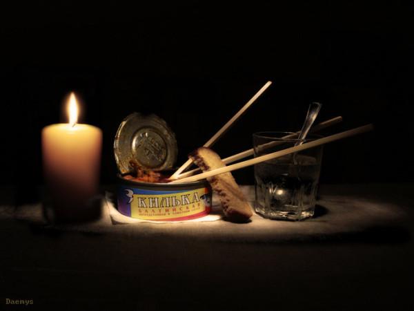 Нежданно-негаданно : Ужин при свечах!