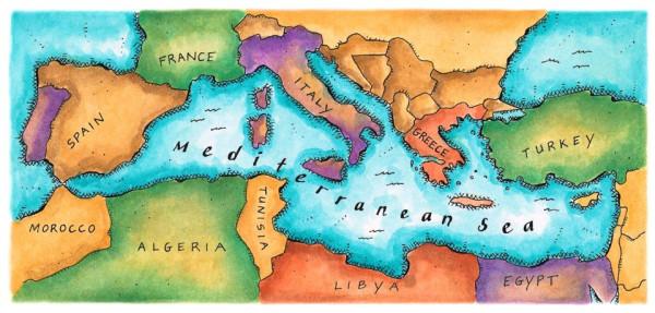 Философии питания и жизни Средиземноморья - залог здоровья и долголетия