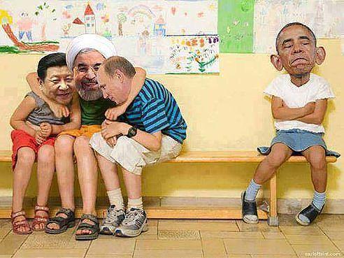 Улыбнись! Мне нравиться Обама!)))