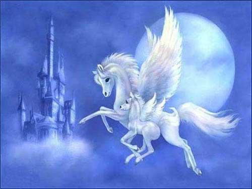 Волшебный мир сказочных лошадей