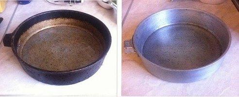 Тайны чистоты на кухне. Бабушкины чугунные сковородки