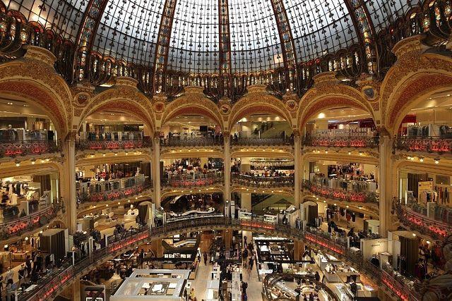 Галери Лафайет, Париж, Франция