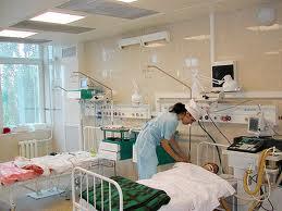 Лежали в больнице в палате ...