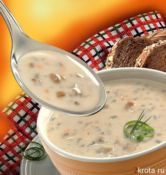 Нескучный молочный суп