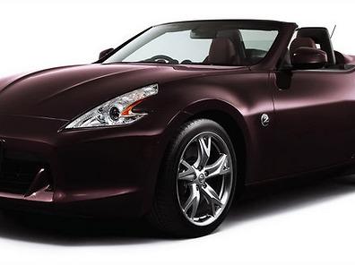 Машина цвета бордо