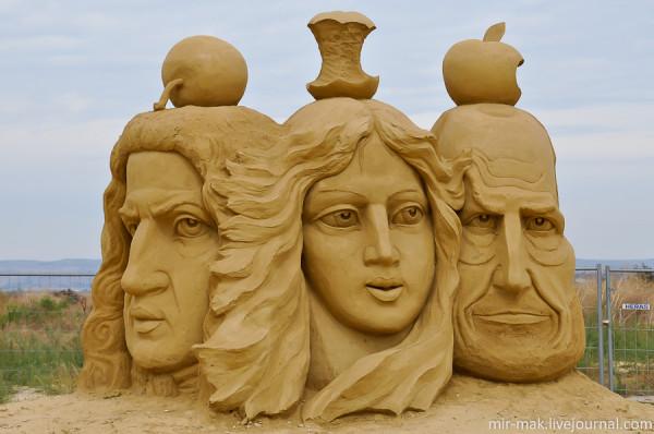 Сказка из песка.Фестиваль песчаных скульптур в Бургасе.