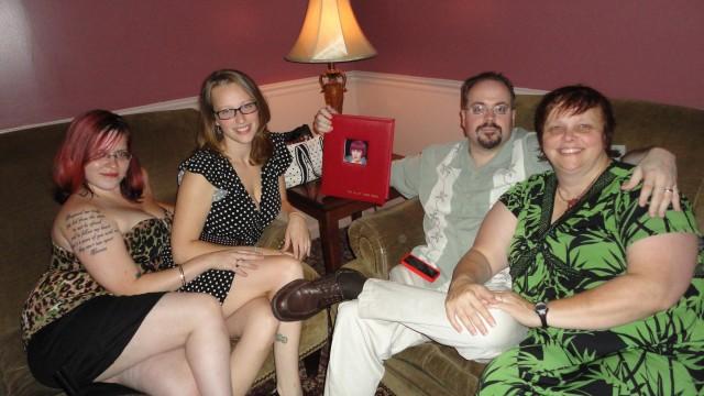 Celebrating at the Velvet Tango Room