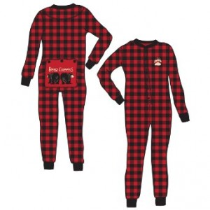 adult flap jack pajamas