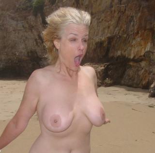 Beach wind in my face