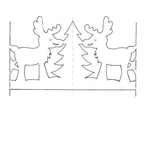 Трафареты для гирлянды из бумаги своими руками