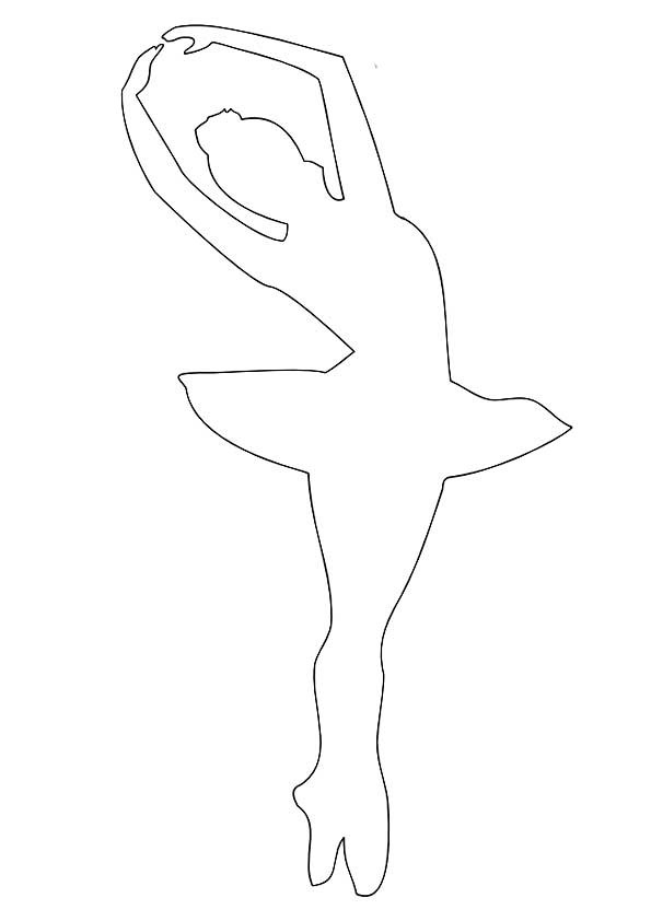Как сделать из бумаги балерину бесплатно