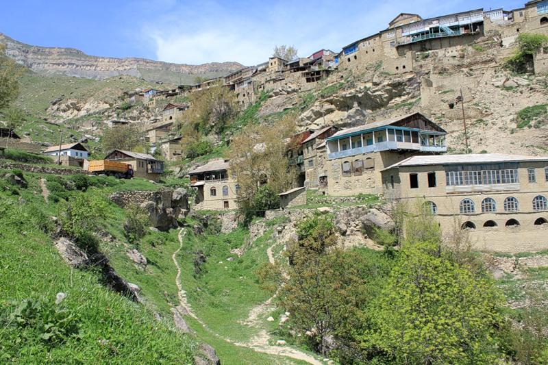 кавказский аул