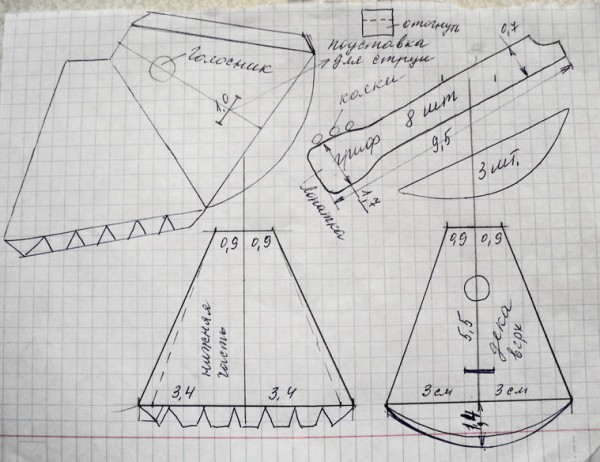 Как сделать балалайку из картона своими руками пошагово