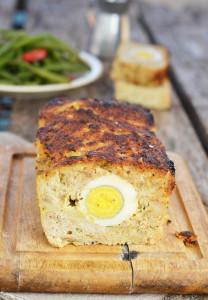 мясной хлеб с яйцом.8