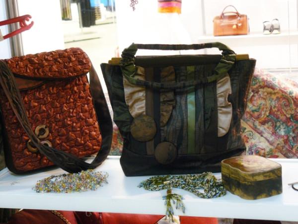 Мои сумочки на выставке-ярмарке