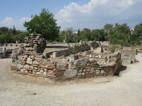 Руины Греческой Агоры