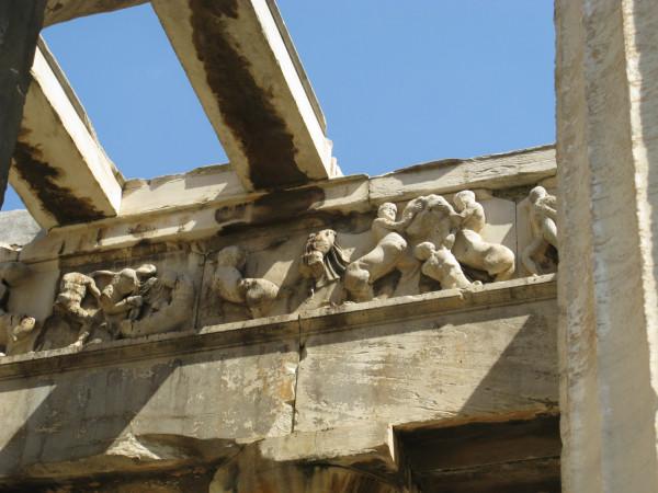 Фриз храма Гефеста