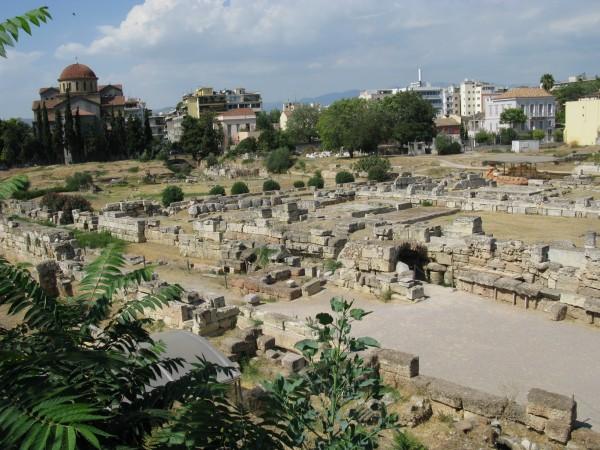 Руины древнего Керамикос