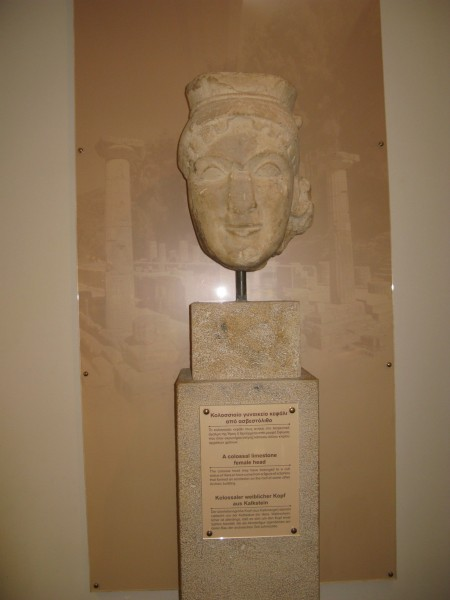 Голова Геры из храма Геры в Олимпии