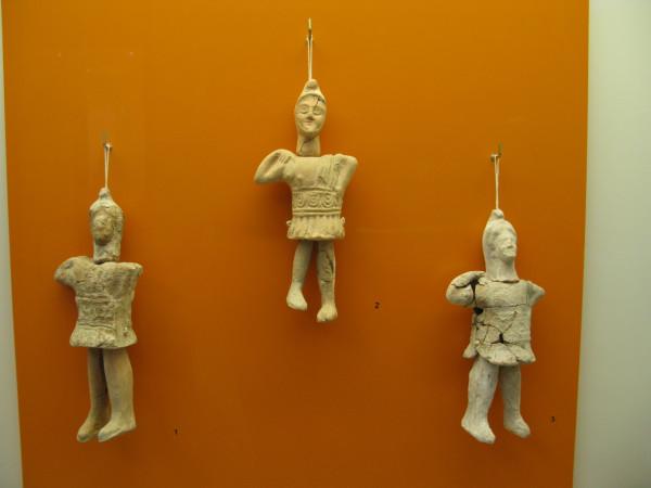 Керамические игрушки с движущимися конечностям