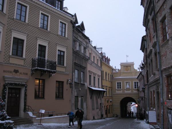 Городские ворота г. Люблин