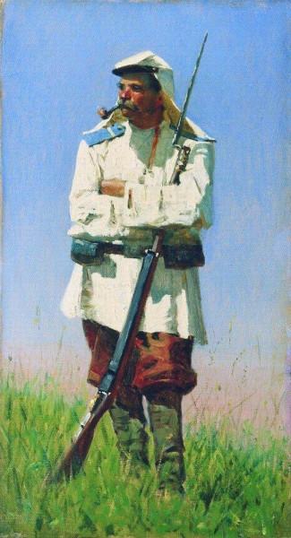 Туркестанский_солдат_в_зимней_форме