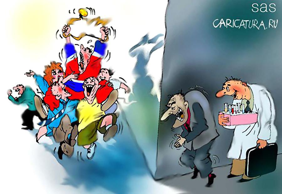 История удушения российского спорта (вкратце)