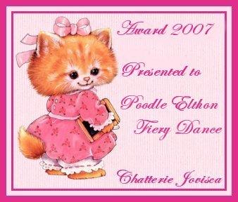 Награда от сайта кошачьего питомника - France