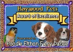 Награда от сайта о животных из Соединённого Королевства
