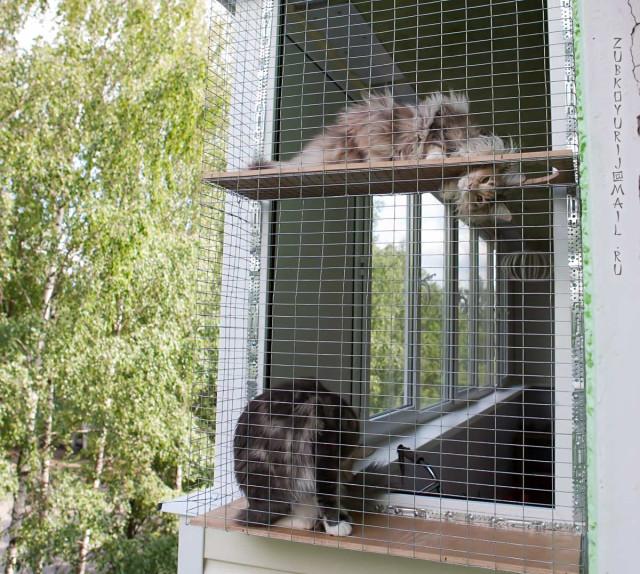 Сетка на балкон своими руками 15