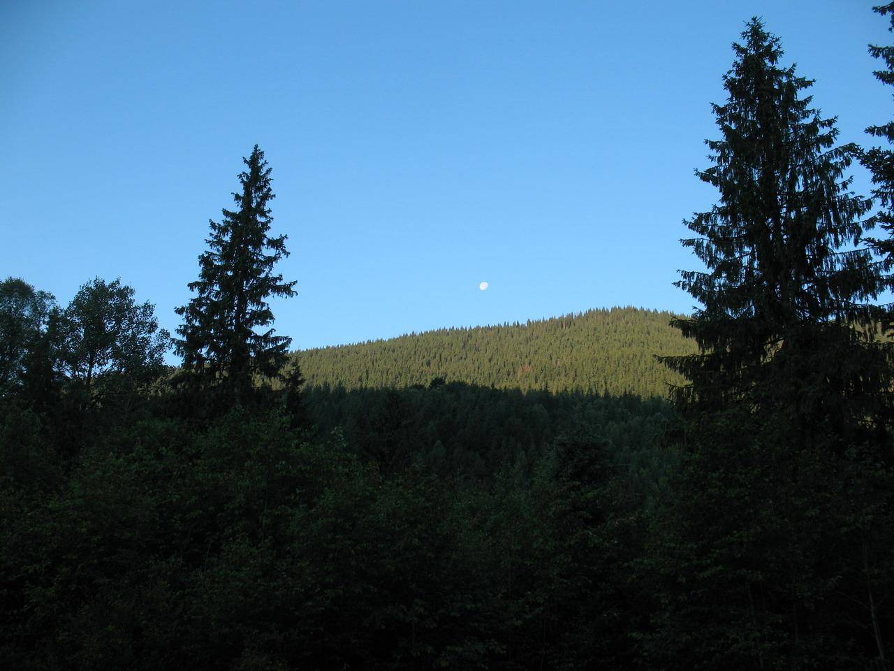 Ранок в горах за Осмолодою