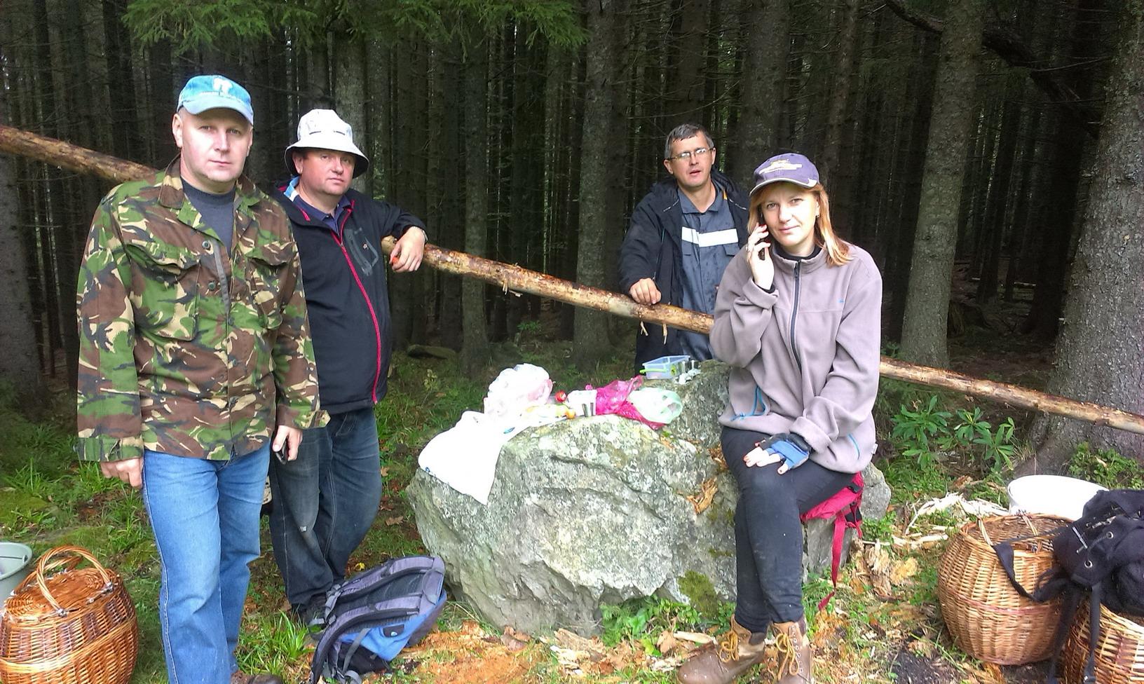 Поїздка на гриби перетворилась просто в невеликий похід під Петрос. 14 км.