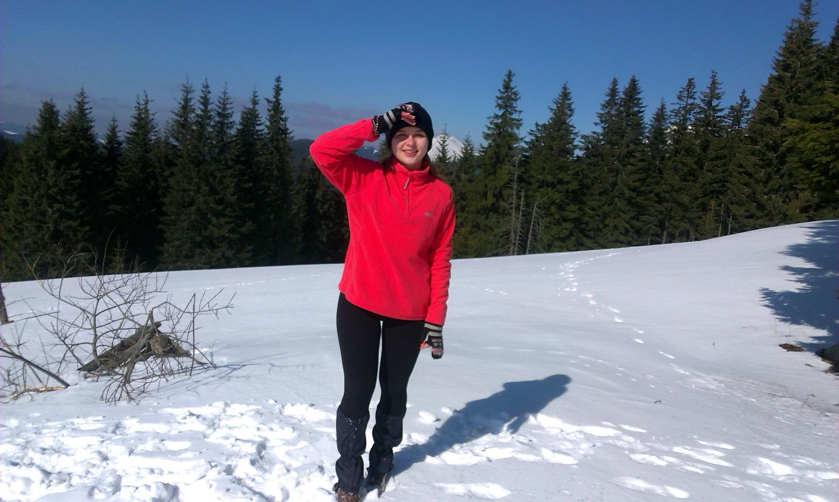 Дуже хотіла в зимові Карпати. Ось спробувала