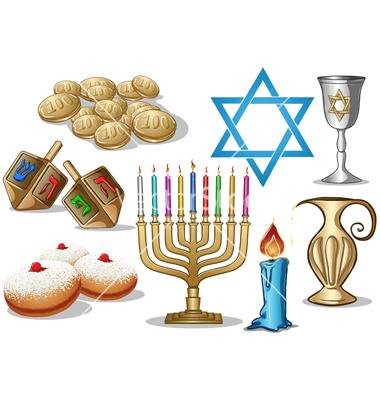 hanukkah-symbols-pack-vector-1043133