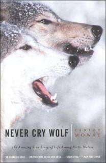 Обложка:Mowat Never cry Wolf